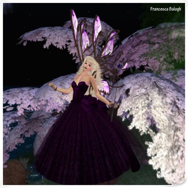 [ p o s t c a r d ] Amethyst Fairy